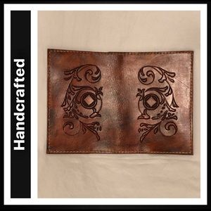NA Daily Reader Hand-Tooled Leather Cover